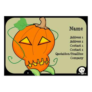 Pumpkin Business Card