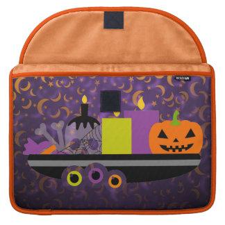 Pumpkin & Candles Potpourri Purple Sleeve For MacBook Pro