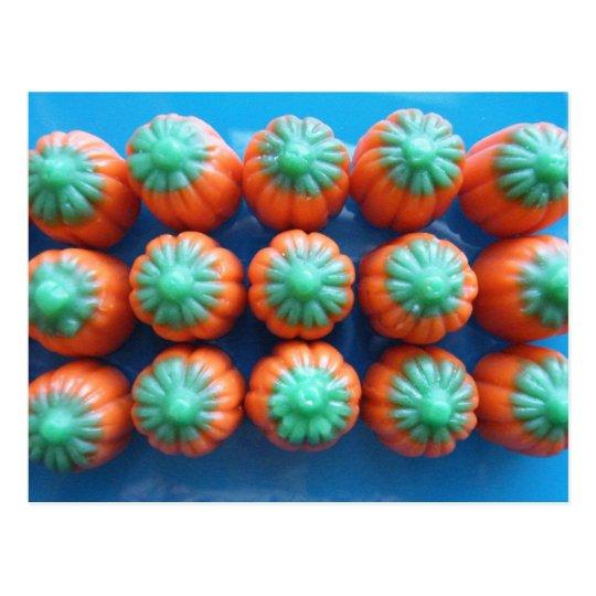 Pumpkin Candy Corn Gifts Postcard