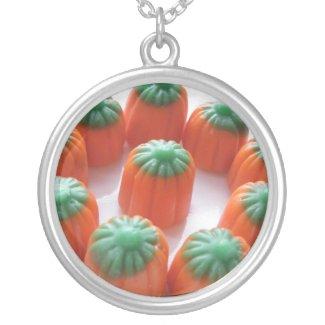 Pumpkin Candy Corn Necklaces