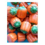 Pumpkin Candy Corn Novelty Gifts Postcard