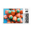 Pumpkin Candy Corn Stamps stamp