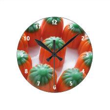 Candy Corn Wall Clocks