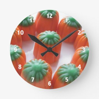 Candy Corn Clocks