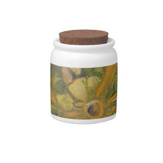 pumpkin candy jar