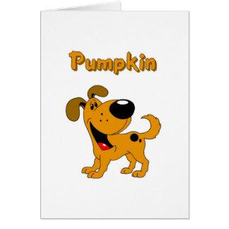 Pumpkin Card