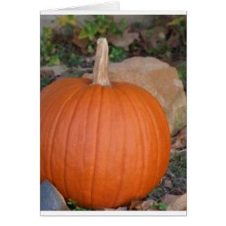 Pumpkin Cards