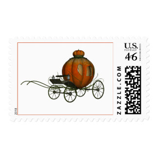 Pumpkin Carriage 1 Postage