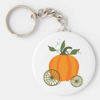 Pumpkin Carriage Keychain