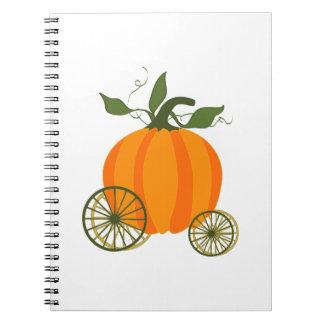 Pumpkin Carriage Notebook