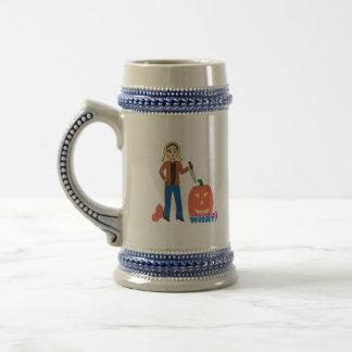 Pumpkin Carver - Light/Blonde Coffee Mug