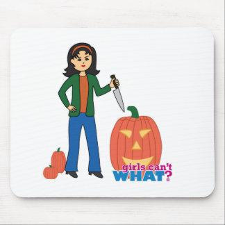 Pumpkin Carver - Medium Mousepad