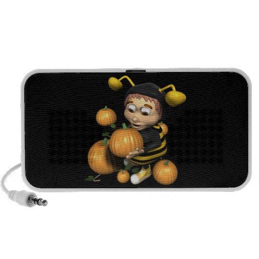 Pumpkin Carving Bee PC Speakers