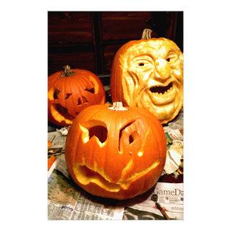 Pumpkin Carving I Stationery
