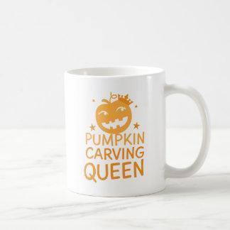 Pumpkin carving QUEEN! Coffee Mug