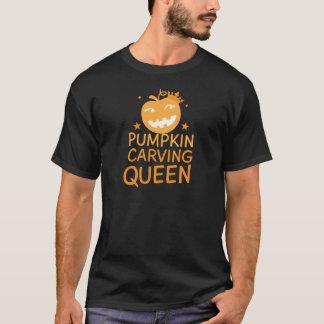 Pumpkin carving QUEEN! T-Shirt
