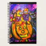 "Pumpkin Cat autumn art Planner<br><div class=""desc"">Pumpkin cat autumn</div>"