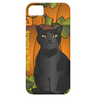 Pumpkin Cat iPhone SE/5/5s Case