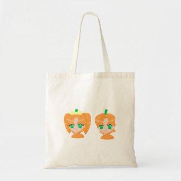 Halloween Themed pumpkin chbis bag