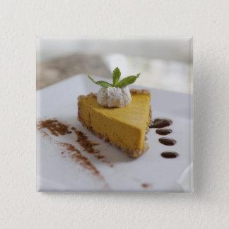 Pumpkin Cheesecake Button