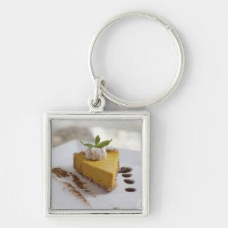 Pumpkin Cheesecake Keychain