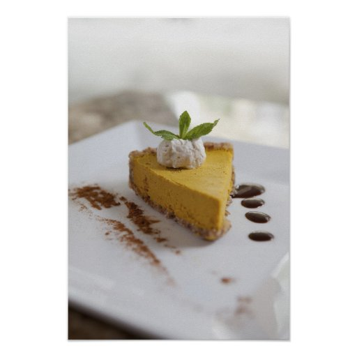 Pumpkin Cheesecake Poster