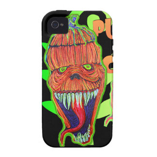Pumpkin Chuck Case-Mate iPhone 4 Cases