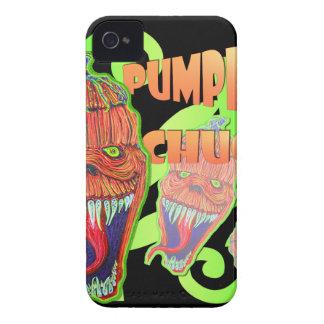 Pumpkin Chuck iPhone 4 Cases
