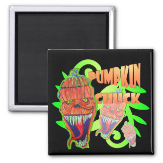 Pumpkin Chuck Fridge Magnet