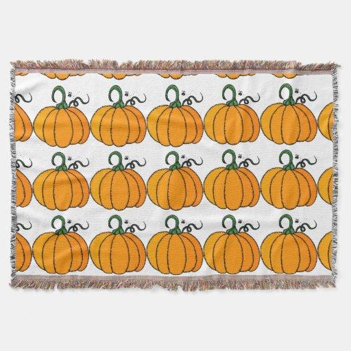 Pumpkin clipart throw