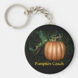 Pumpkin Coach Keychains
