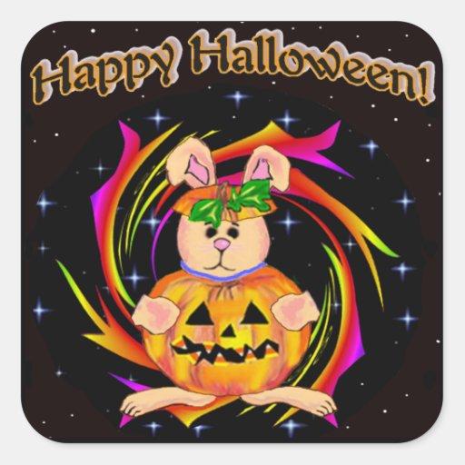 Pumpkin Costume Stickers