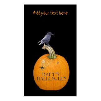 Pumpkin & Crow Business Card Templates