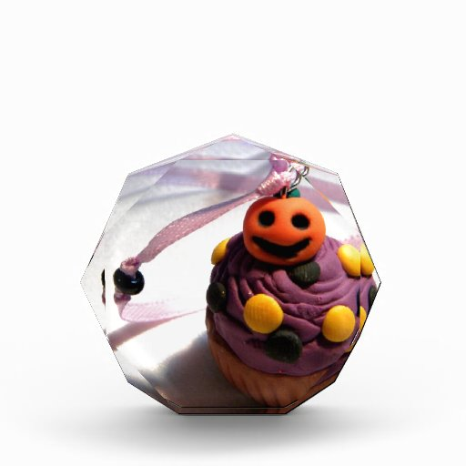 Pumpkin Cupcake Acrylic Award