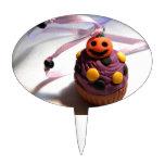 Pumpkin Cupcake Cake Toppers