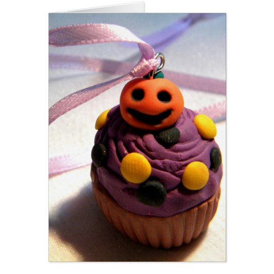 Pumpkin Cupcake Card