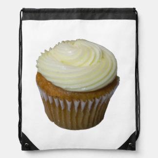 Pumpkin Cupcake Drawstring Bag