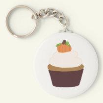 Pumpkin Cupcake - Keychain