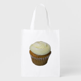 Pumpkin Cupcake Reusable Grocery Bag