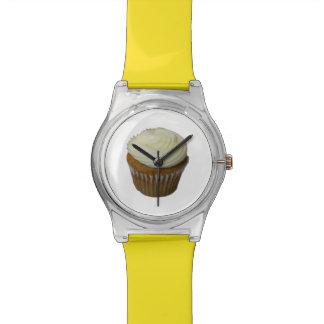 Pumpkin Cupcake Wrist Watch