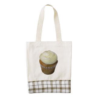 Pumpkin Cupcake Zazzle HEART Tote Bag