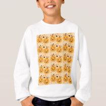 Pumpkin cute pattern sweatshirt