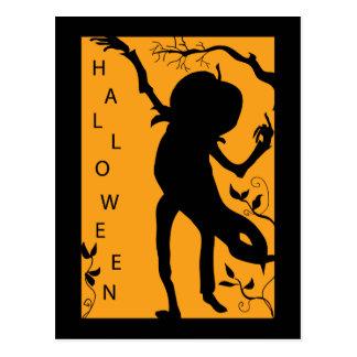pumpkin-dancer postcard