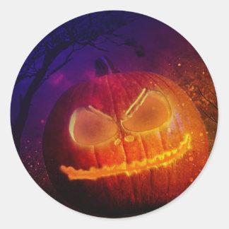 Pumpkin Day Classic Round Sticker