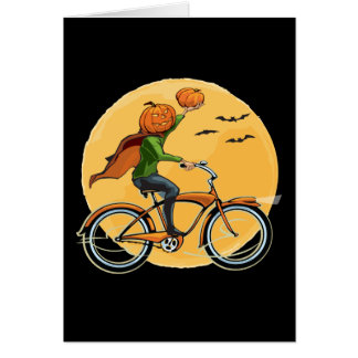 Pumpkin Delivery Card