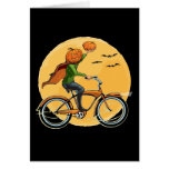 Pumpkin Delivery Greeting Cards