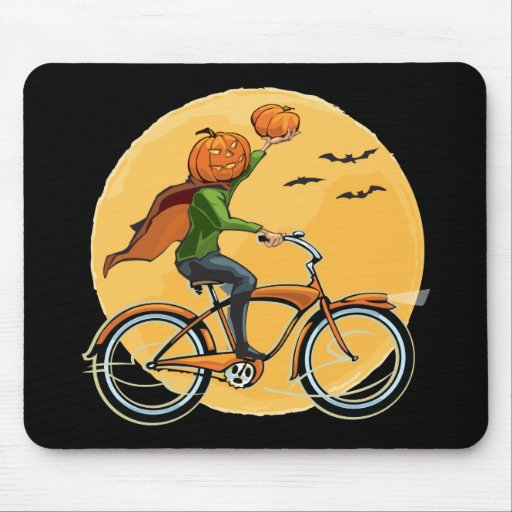 Pumpkin Delivery Mouse Pad