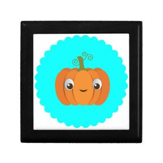 Pumpkin design jewelry box