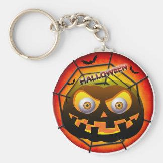 pumpkin design keychain