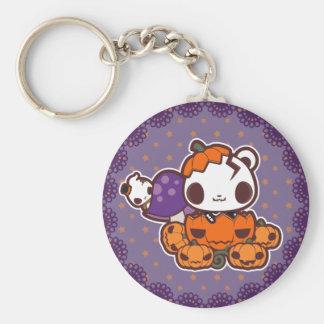 Pumpkin Disguise Keychain